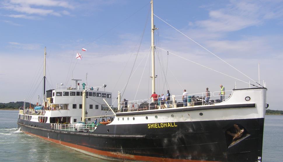 Steamship Shieldhall Southampton Docks Cruise