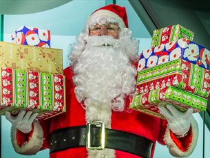 Breakfast with Santa at Emirates Spinnaker Tower