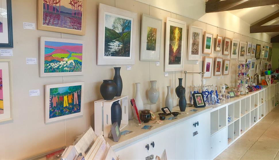 The Sheep Shed Gallery and Tearoom