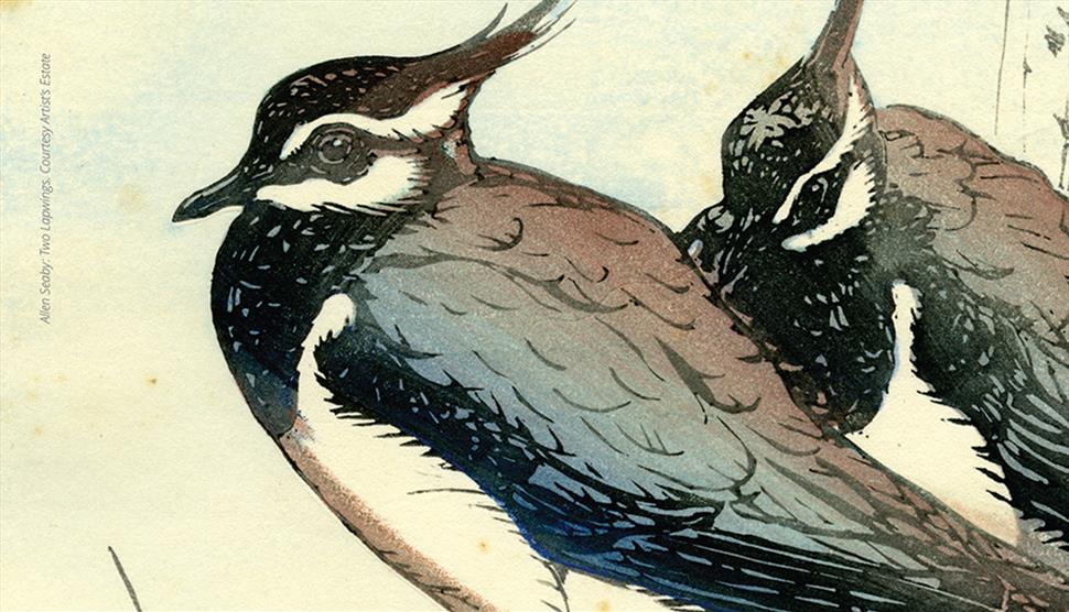 Platt and Seaby Woodblock Prints at St Barbe Museum