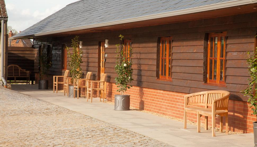 The Apple Rooms at Houghton Lodge Gardens