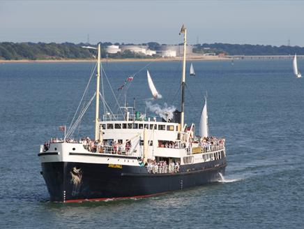 Steamship Shieldhall Father's Day Cruise with Shieldhall Stompers Jazz Band
