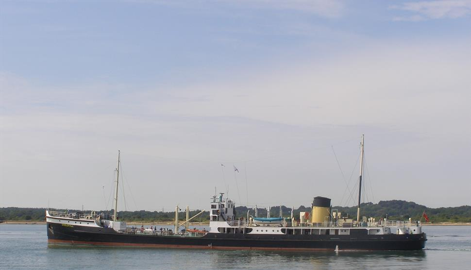 Steamship Shieldhall Head to the Solent Cruise