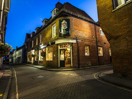 The Wykeham Arms pub in Winchester.