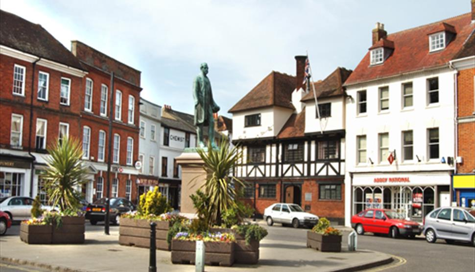 Romsey Town Centre