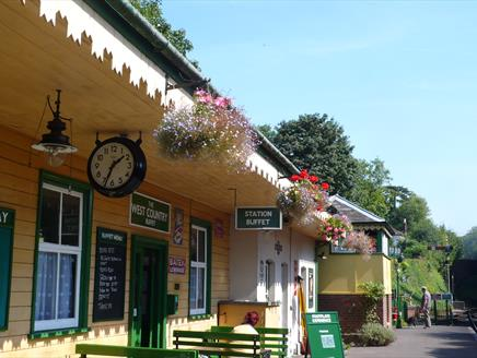 West Country Buffet at the Watercress Line, Alresford
