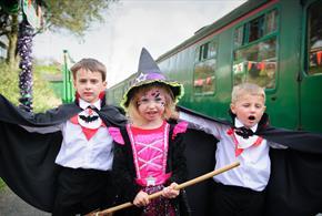 "Wizard Weekend at The Mid Hants Railway ""Watercress Line"""