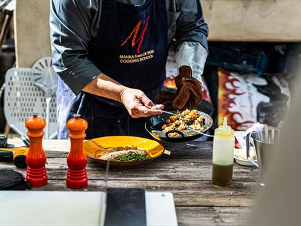 An Introduction to Traditional Woodfired Cooking at Season Cookery School, Lainston House