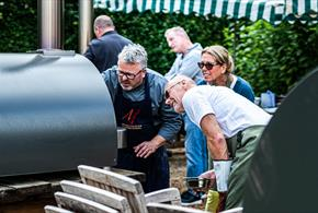Outdoor Wood fired Entertaining