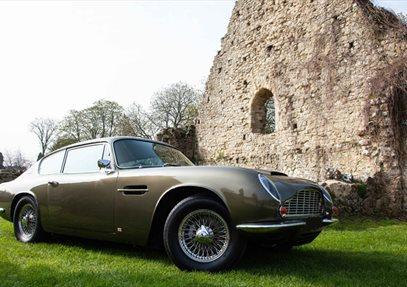 Simply Aston Martin at Beaulieu, National Motor Museum