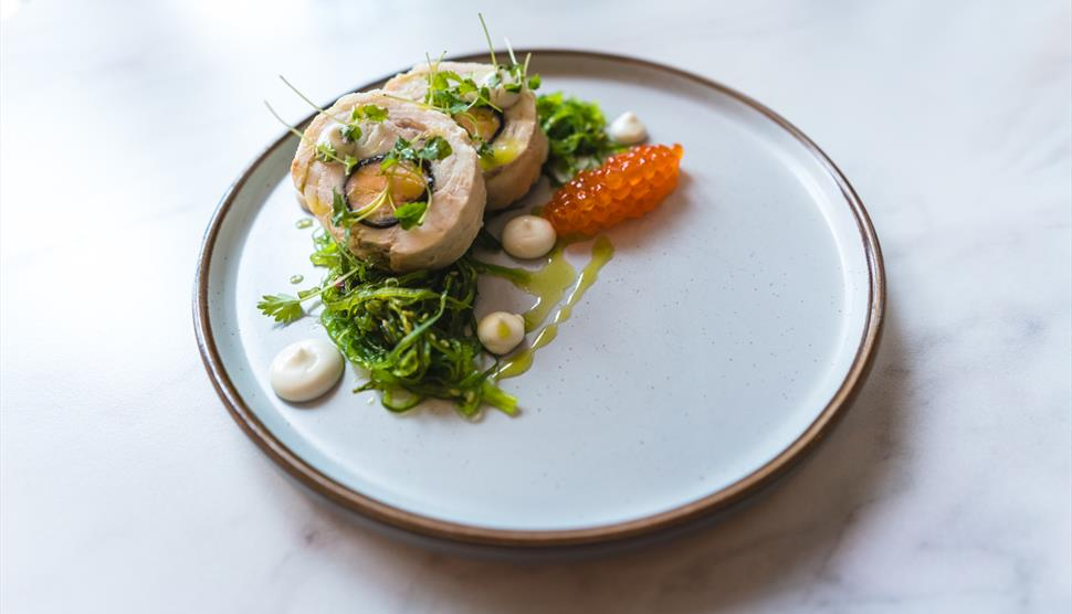 Delicious dishes at The Palm Brasserie