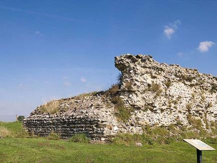Silchester Roman City Walls and Amphitheatre