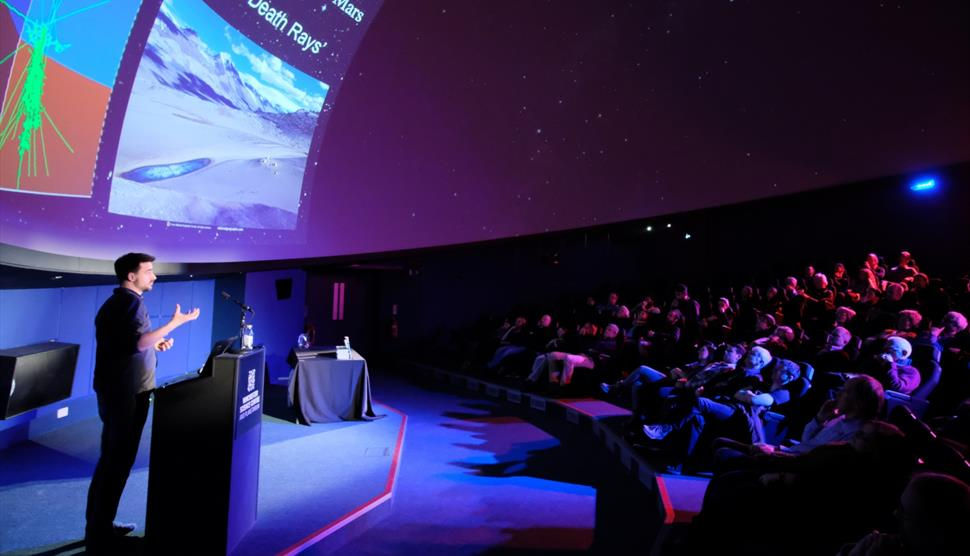 Space Lecture: The Music of Stars Reveals Their Deep Interiors at Winchester Science Centre