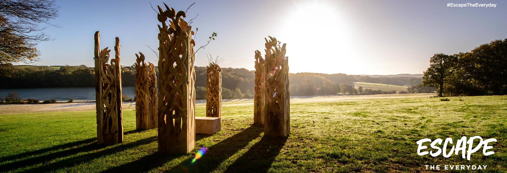 1066 Country Walk Sculpture - Far Banks Henge