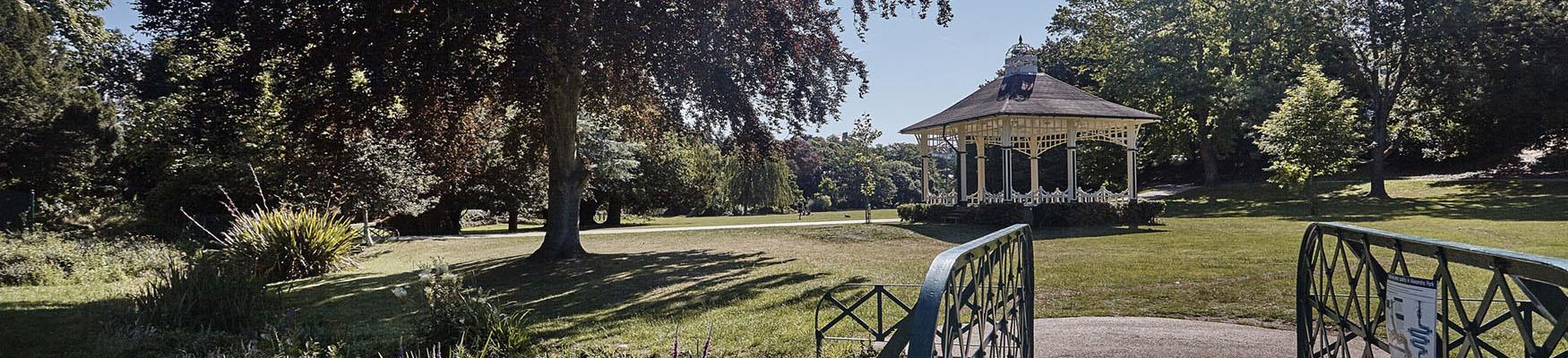 Alexandra Park in Hastings
