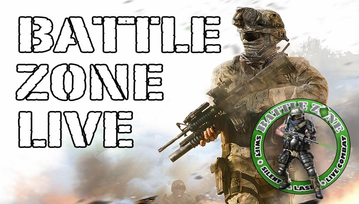 Battle Zone Live Laser Outdoor Combat