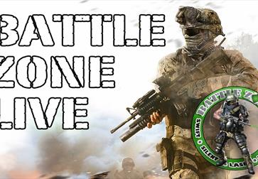 Battle Zone Live Laser Outdoor Combat