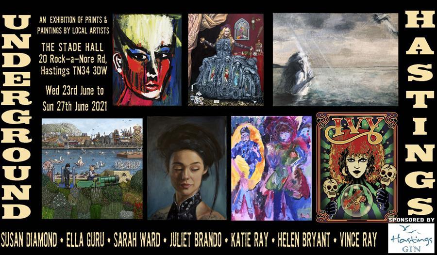 Underground Hastings Art Exhibition