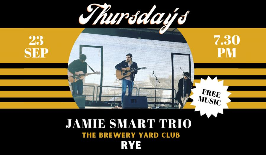 Jamie Smart Trio   LIVE @ The BYC