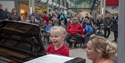 Hastings International Piano Competition - piano in Priory Meadow