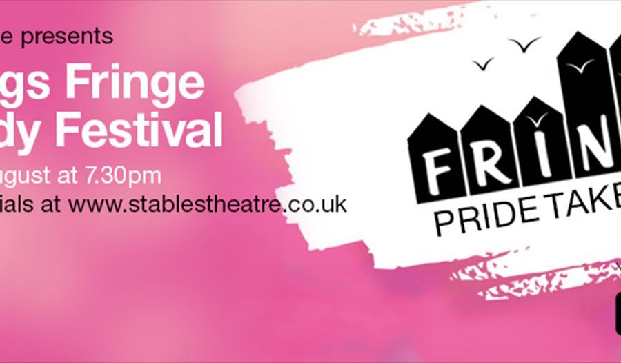 Hastings Fringe Comedy Festival - Pride Takeover poster