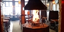 The 360 degree open fire at The FILO, Hastings, East Sussex