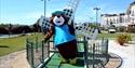 Giant Bear on Adventure Golf in Hastings East Sussex