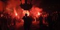 Battle bonfire procession