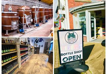 Battle Brewery and Bottle Shop, East Sussex