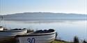 Boats at Bewl Water, Kent.