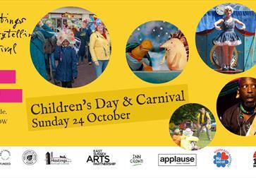 Hastings Storytelling Festival presents Children's Day & Carnival