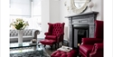 The lounge at Coast B&B, Bexhill, East Sussex