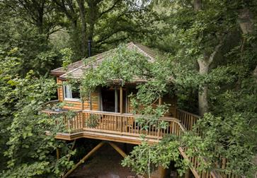Tinkers Treehouse at Downash Wood Treehouses, East Sussex