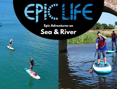 Paddle boarding with Epic Life