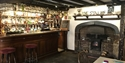 The front bar at The Stag Inn, Hastings, East Sussex