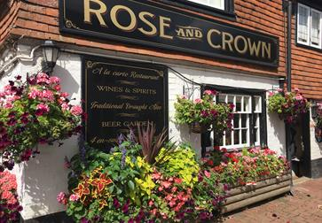 Inn, Pub with Rooms, Rose & Crown, Burwash