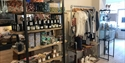 IntInterior shot at Greenfinch shop in Ticehurst, East Sussex, showing candles, homewares, clothes and gifts