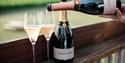 Wine tasting at Gusbourne Estate, Appledore, Kent.