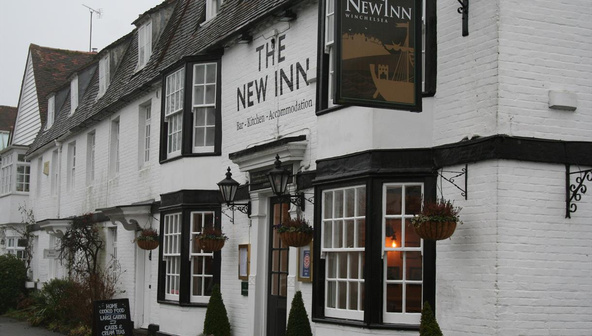 The New Inn, Pub with rooms, Winchelsea, B&B, Garden Pub, The New Inn Winchelsea, Pub with Rooms, Accommodation, Food in Winchelsea