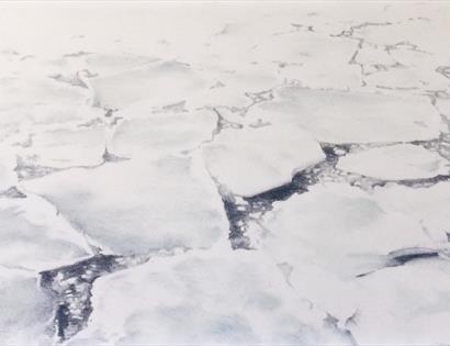 Ice Flow - Iceland