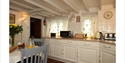 Kitchen at Clare Cottage in Brede, East Sussex