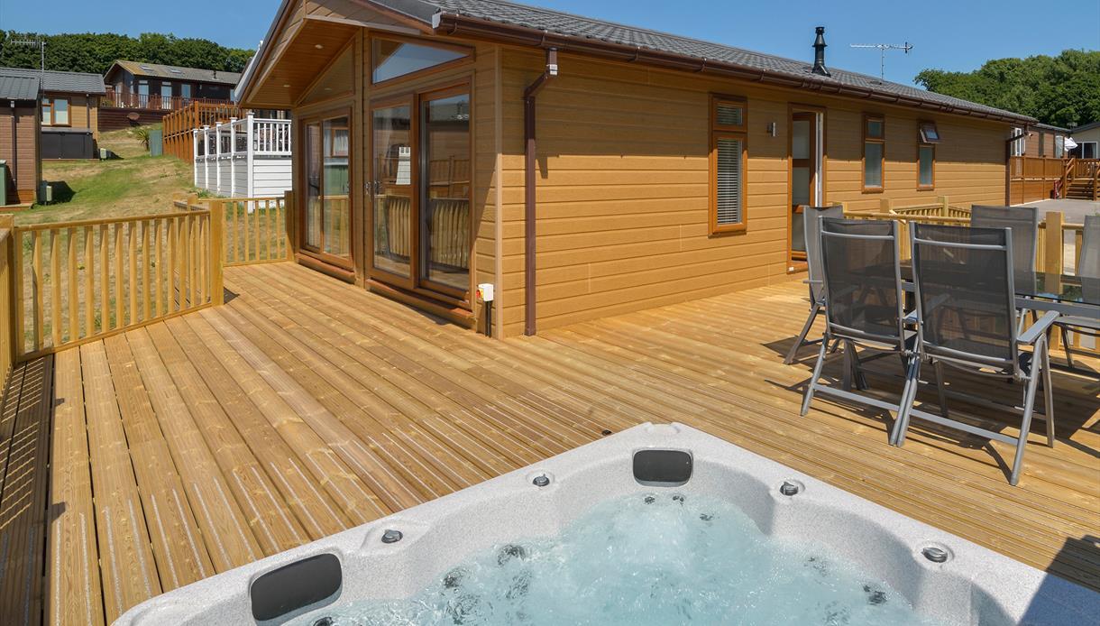 Shear Barn Luxury Lodge Holidays