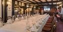 Large function room at The Mermaid Inn, Rye