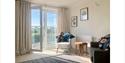Living room at one of Rye & Beyond's properties