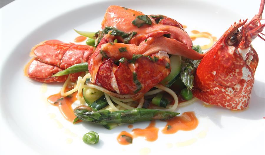Gourmet Shellfish dish