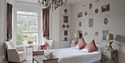 The 'Crown' bedroom at The Old Rectory in Hastings, East Sussex