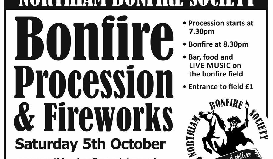 Northiam Bonfire Procession & Fireworks