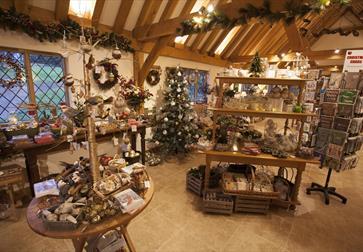 Christmas shopping at Pashley Manor