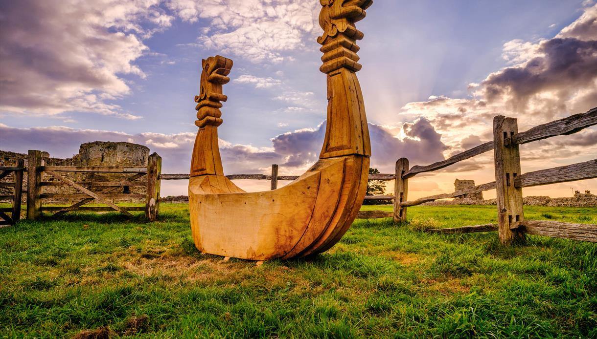 1066 Country Walk sculpture, Pevensey