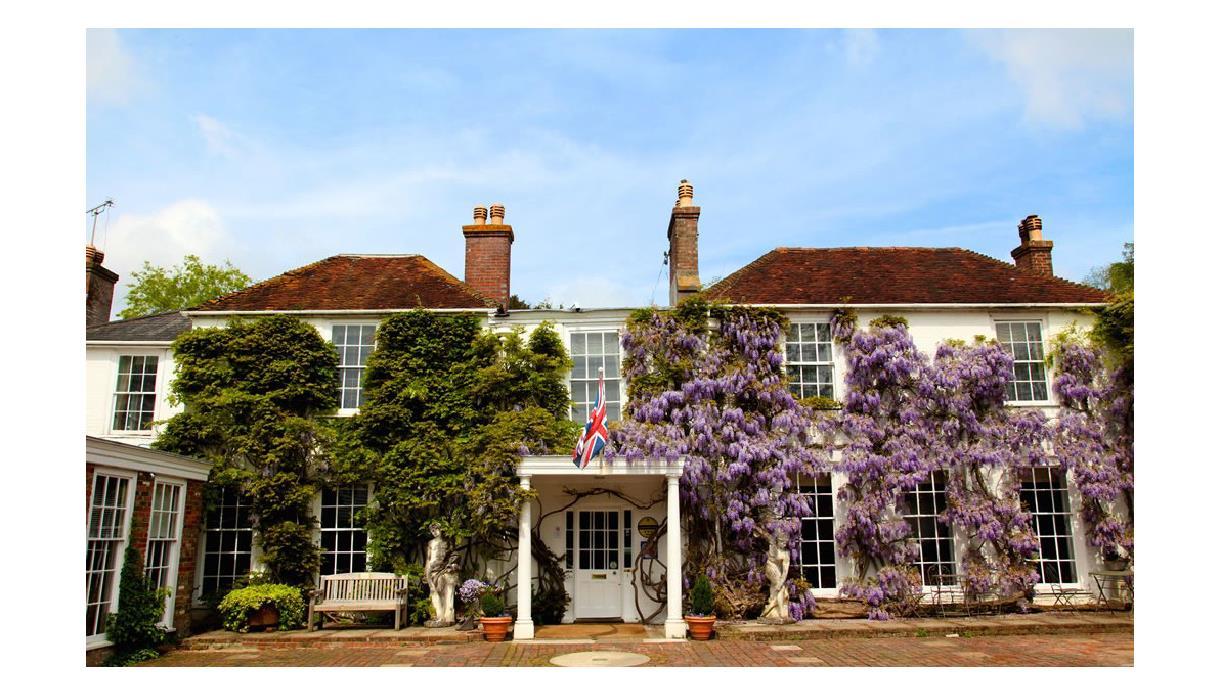 PowderMills Hotel exterior - Battle, East Sussex